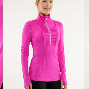 Lululemon Run: Your Heart Out Pullover  Paris Pink